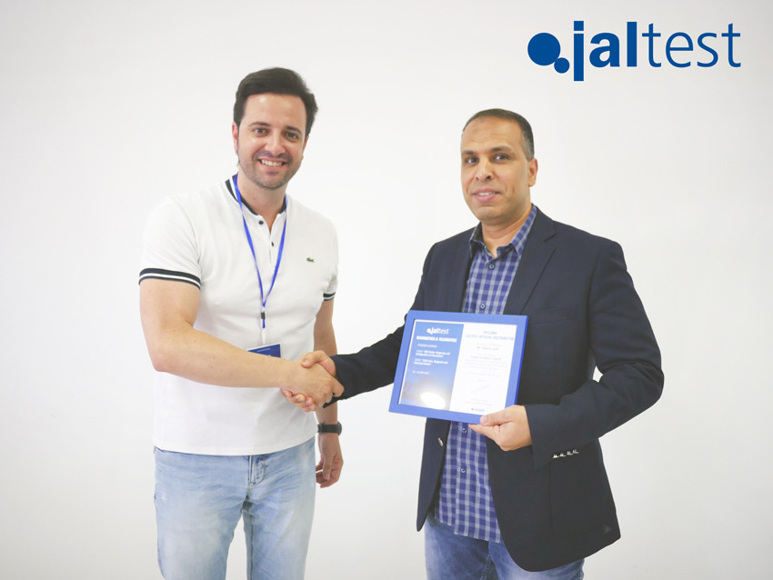 JALTEST TRAINING COURSE FOR DISTRIBUTORS. 24 MAY 2017.