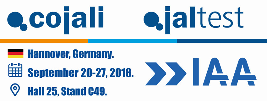 Cojali & Jaltest at IAA 2018