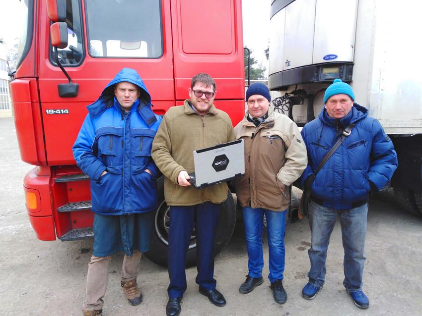 Jaltest in Minsk
